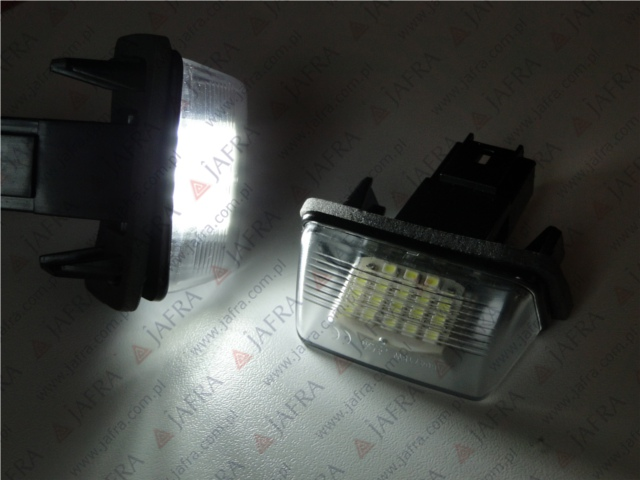 Citroen C3 C4 C5 Led Oem Tablicy Rej Rdh